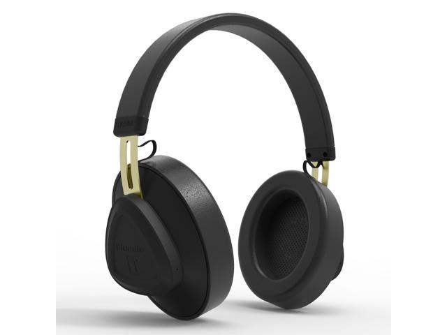 Bluedio TM Bluetooth 5.0 On-Ear Headphones Voice Control Stereo Wireless Headsets for Music& Call,Built-in Mic, Black