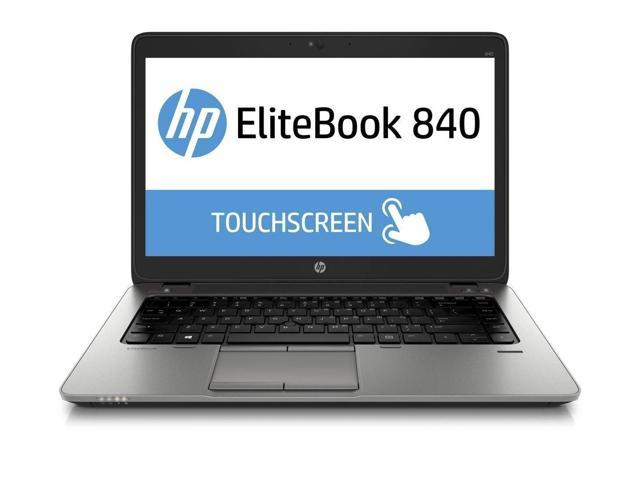 "Refurbished: HP Elitebook 840 G2 14"" Touchscreen (1920x1080) i5-5300U 8G 128G SSD Win 10 Pro Webcam Bluetooth SmartCard Reader Backlit Keys - HP Business Laptop  (M6N73US)"