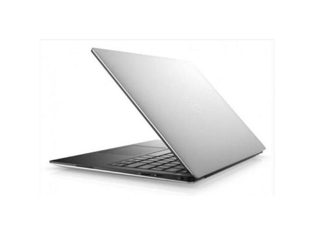 """Refurbished: Dell XPS 9370 13.3"""" 4K UHD Touchscreen Notebook with Carbon Fiber Palm Rest, Intel Core i7-8550U 1.80GHz, 16GB RAM, 512GB SSD, Windows 10 Home, Silver"""