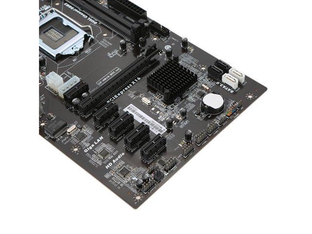 Colorful C.H81A-BTC V20 6 GPU BTC Ethereum litecoin Mining Motherboard Systemboard for Intel H81/LGA1150 Socket Processor DDR3 SATA3.0 for Miner Mining Desktop