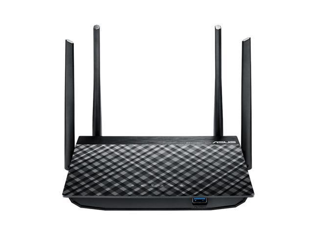 ASUS RT-AC58U  AC1300 Dual Band MU-MIMO Wireless router  4-port switch  GigE 802.11a/b/g/n/ac RT-AC1300G+