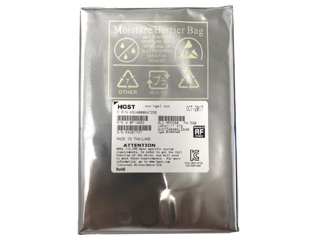 "Refurbished: HGST Ultrastar 7K4000 HUS724040ALE640 (0F14683) 4TB 64MB Cache 7200RPM SATA 6.0Gb/s 3.5"" Internal Enterprise Hard Drive - OEM"