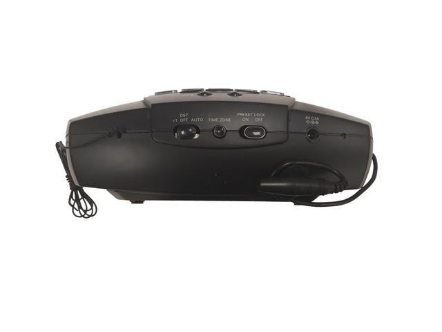 iHome Auto-Set Alarm Clock Radio with Preset Tuning - Hi277