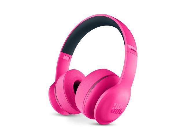 Refurbished: Jbl Everest 300 Bluetooth Wireless Microphone On Ear Headphones Pink
