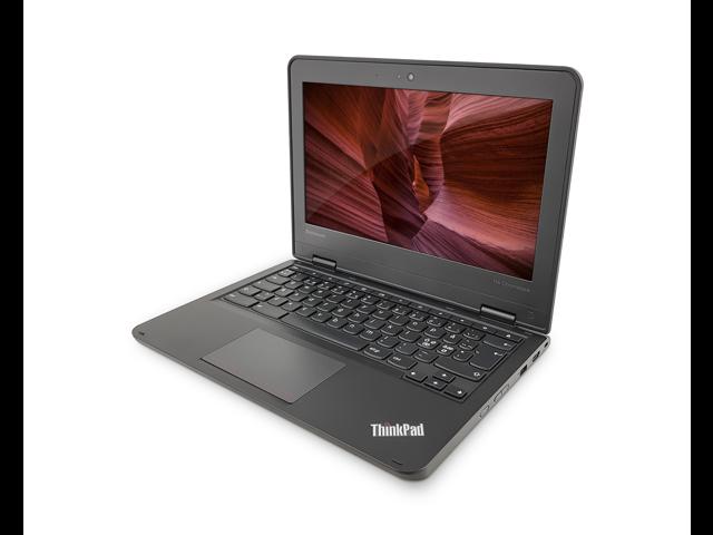 "Refurbished: Lenovo ThinkPad 11e 20DB 11.6"" Grade A Chromebook - Intel Celeron N2930 Quad-core (4 Core) 1.83GHz, 4GB MEMORY, 16GB SSD, 802.11a/b/g/n/ac, BT 4.0, Card Reader, WebCam, Chrome OS"