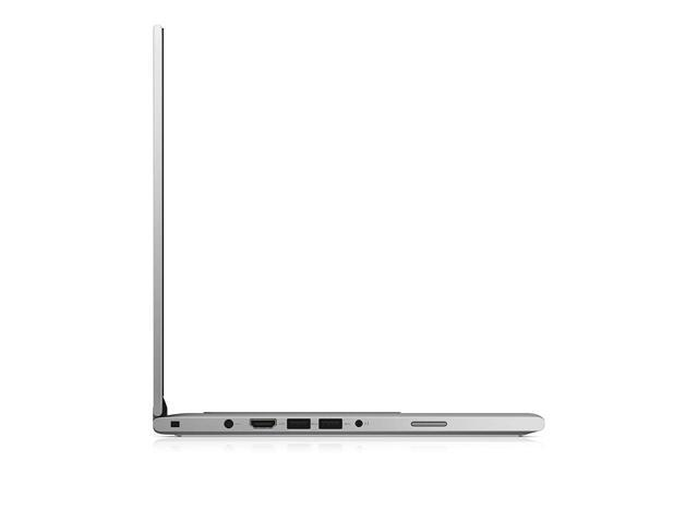 """Refurbished: Dell Inspiron 13 2-in-1 Touchscreen Laptop - 6th Gen Intel Core i5-6200U X2 (up to 2.80 GHz), 13.3"""" Truelife FHD 1920x1080, 128GB SSD, 4GB DDRL, Silver, Win 10 Pro x64"""