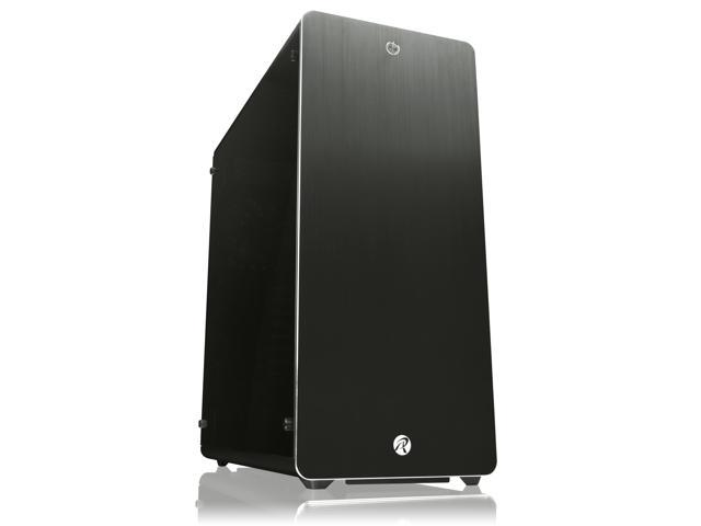 RAIJINTEK ASTERION BLACK CLASSIC, an Alu. E-ATX case, 4×USB 3.0, 3x12025 LED fan pre-installed, supports 340mm VGA card, 180mm height CPU cooler, ATX/EPS PSU , 4mm tempered glass, Dust-control filters