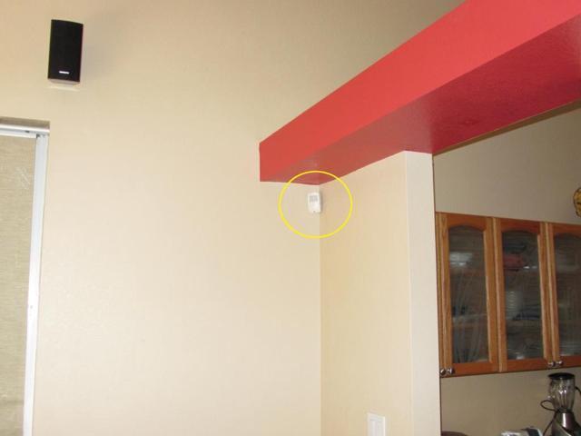 ADT Motion Sensor Look + Hidden HD Camera W/ Motion Detection Security Alarm