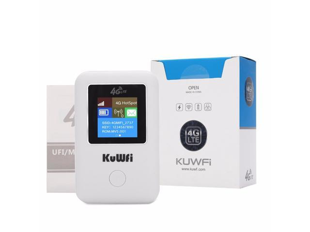 KuWFi MF902 Wireless 4G WIFI Router Unlocked LTE Router Portable MINI Router Pocket 4G Modem Car Wi-fi Router With Sim Card Slot