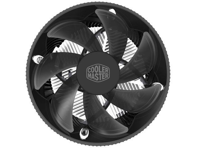Cooler Master i70 CPU Cooler - 120mm Low Noise Cooling Fan & Heatsink - For Intel Socket LGA 1150 / 1151 / 1155 / 1156