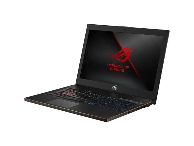 "ASUS ROG Zephyrus GM501GS-XS74 Slim and Light Gaming & Business Laptop (Intel 8th Gen Coffee Lake i7-8750H, 32GB RAM, 1TB SSHD + 512GB PCIe SSD, 15.6"" FHD G-SYNC, GTX 1070, Win 10 Pro) Metallic Black"