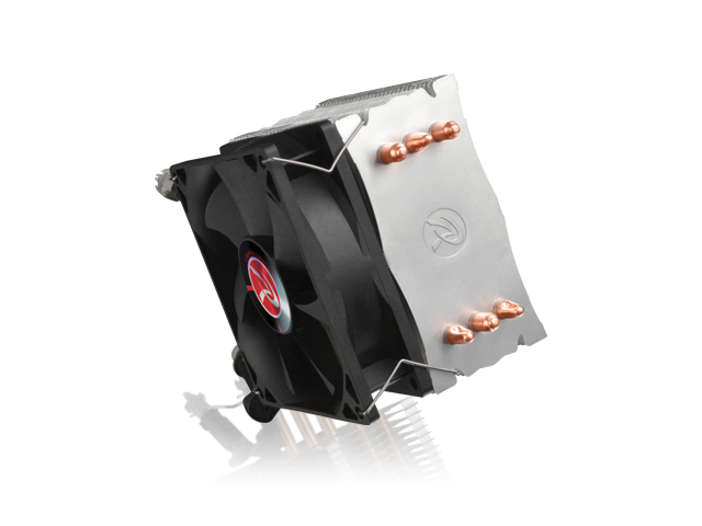 RAIJINTEK RHEA, 3pcs 6mm Heat-Pipe, 9225 PWM Fan, Compatible with Intel LGA 115x & AMD AM2/AM3 CPU, Easy installation & User Friendly, Light Weight and 130 mm Height for Most Desktop System