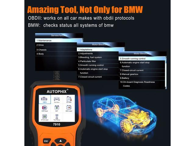 Autophix 7910 OBD2 Scanner for BMW Mini and Rolls Royce