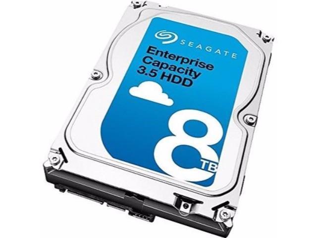Refurbished: Seagate Enterprise Capacity 3.5 ST8000NM0075 8TB 7200RPM SAS 12Gb/s 3.5-Inch 256MB Cache Internal Hard Drive