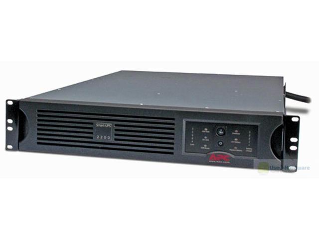 Refurbished: APC Smart-UPS 3000VA USB & Serial RM 2U 120V (SUA3000RM2U) - 2 Year Warranty Included