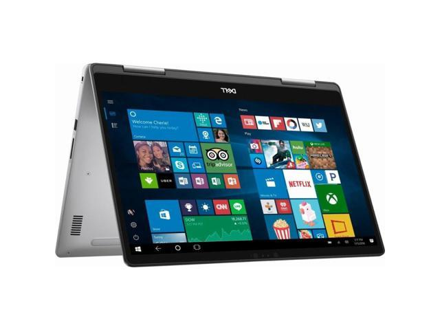 """Dell Inspiron  I7573-5104GRY-PUS Laptop Tablet 2-in-1 Notebook PC Computer Touch Screen Touchscreen FHD Full HD 15.6"""" i5-8250U 8GB 2TB HDD"""