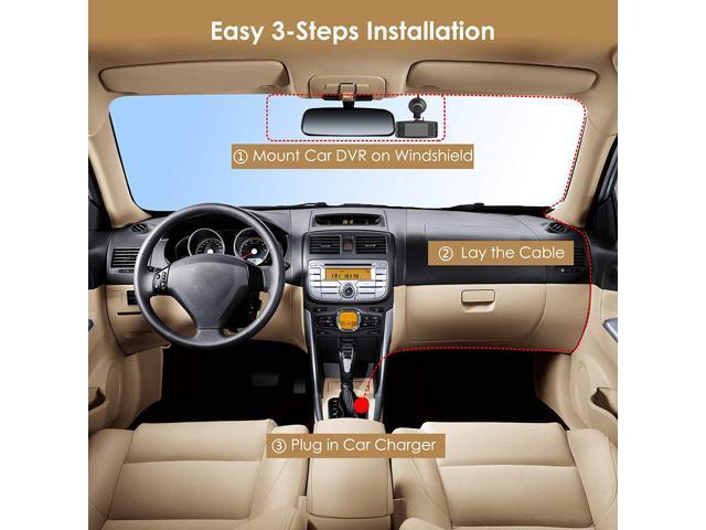 """Auto-Vox G1W 2.7"""" Car DVR Camera 1080P Night Vision Black Box Dash Cam Video Recorder G-sensor"""