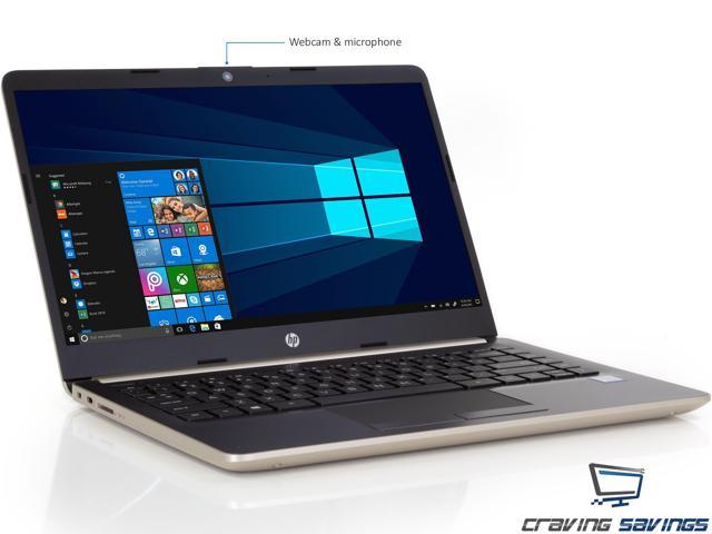 "HP 14.0"" HD Notebook, Intel Dual-Core i3-7100U 2.4GHz, 8GB DDR4, 128GB SSD, HDMI, Card Reader, Intel HD Graphics 620, 1x USB 3.1 Type-C, 2x USB 3.1, Wi-Fi, Bluetooth, Windows 10 Home"