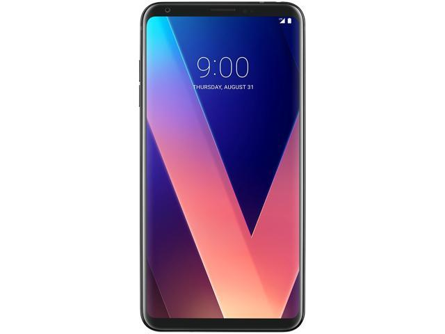 Refurbished: LG V30+ LS998 128GB Unlocked GSM 4G LTE Android Phone w/ Dual 16MP|13MP Rear Camera - Aurora Black