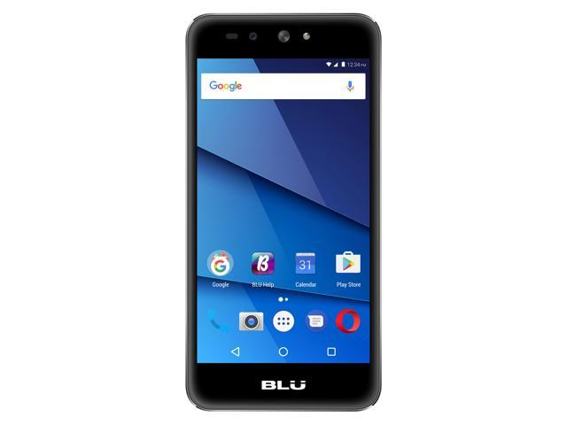 BLU Grand X LTE G0010WW Unlocked GSM Dual-SIM Phone w/ 8 MP Camera - Black