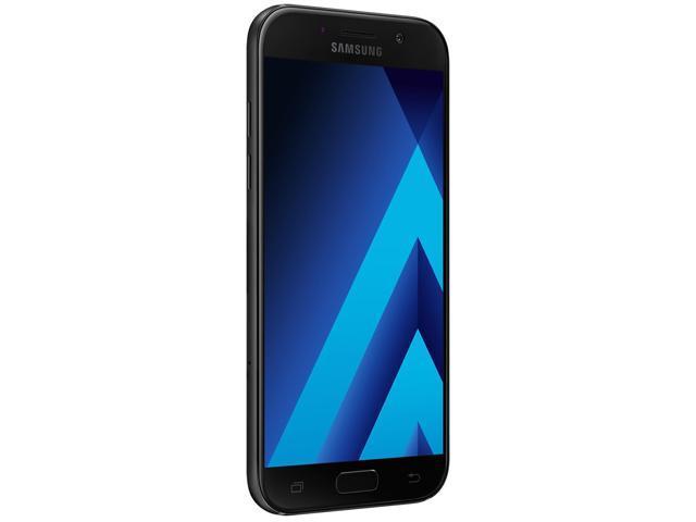 Refurbished: Samsung Galaxy A520W 32GB Unlocked GSM LTE Andoid Phone w/ 16MP Front+Rear Camera's - Black Sky