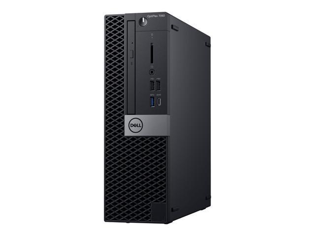 Dell OptiPlex 7000 7060 Desktop Computer - Intel Core i5 (8th Gen) i5-8500 3 GHz - 8 GB DDR4 SDRAM - 256 GB SSD - Windows 10 Pro 64-bit (English/French/Spanish) - Small Form Factor