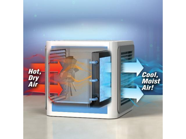 EC2WORLD Cooler Small Air Conditioning Appliances Mini Fans Air Cooling Fan Summer