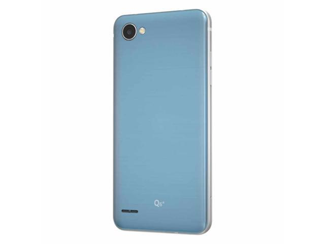 "LG Q6 32GB US700 GSM Factory Unlocked 4G LTE 5.5"" IPS LCD 3GB RAM 13MP Camera Phone - Platinum"