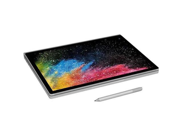 "Microsoft Surface Book 2 FUX-00001 Intel Core i7 8th Gen 8650U (1.90 GHz) 16 GB Memory 512 GB PCIe SSD NVIDIA GeForce GTX 1060 15.0"" Touchscreen 3240 x 2160 Detachable 2-in-1 Laptop Windows 10 Pro Creators Update 64-Bit"