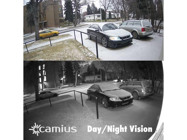 Camius UHD 4K 8 Channel NVR PoE Security IP Camera System with hard drive 2TB, 4 x 5MP Wired Outdoor IP Surveillance Bullet Cameras 2592x1944p BOLTX5P [8P4B2T]