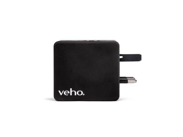Veho TA-1 Universal 4-Port USB 5V 3.5A World Travel Plug