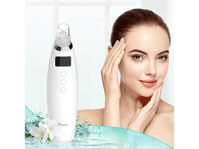 Ovonni QY203 Vacuum Pore Cleaner Electric Blackhead Remover Microdermabrasion Machine for Face Nose