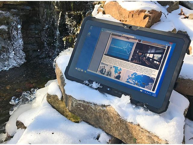 "Dell Latitude 12 7000 7202 RUGGED 11.6"" HD TouchScreen Outdoor Business Tablet - Intel Core M-5Y71, 512GB SSD, 8GB RAM, 4G LTE Verizon Broadband, GPS, 2 Webcam, Windows 10 Professional - Warranty 2022"