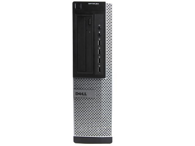 Refurbished: Dell Black Optiplex 9010 Desktop Intel i5 Dual Core 3.2GHz 8GB RAM 1TB HDD Intel HD Graphics 2500 DVD-RW Windows 10 Home 19'' Display Keyboard Mouse