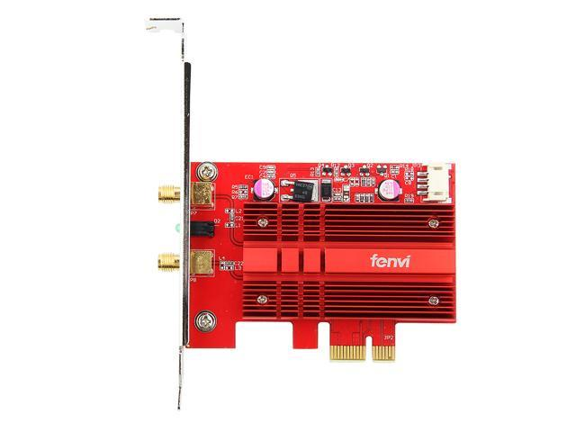 Fenvi FV-2030T New Desktop Wireless AC2030 Dual Band PCI Express Wifi Adapter Bluetooth 5.0, With Intel 9260 Card, 5Ghz-1730Mbps, 2.4Ghz-300Mbps, IEEE 802.11ac, Support MU-MIMO, Support Windows 10