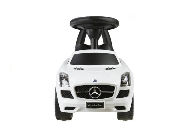 Evezo Mercedes Benz AMG Ride-On, Toddler, Push Car, White