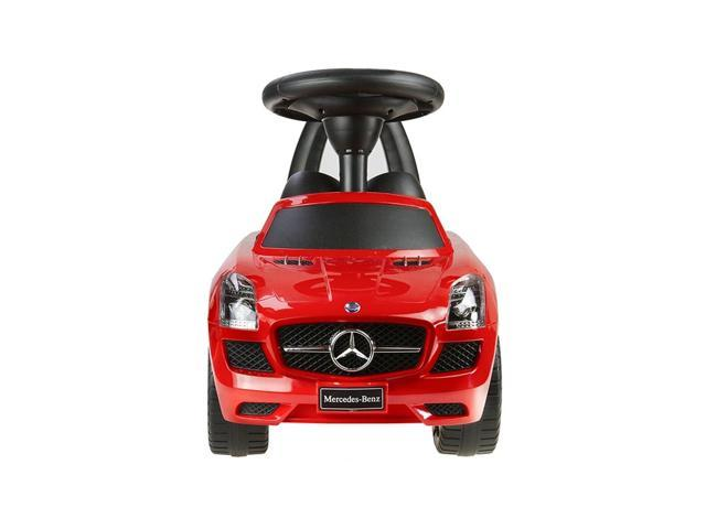 Evezo Mercedes Benz AMG Ride-On, Toddler, Push Car, Red