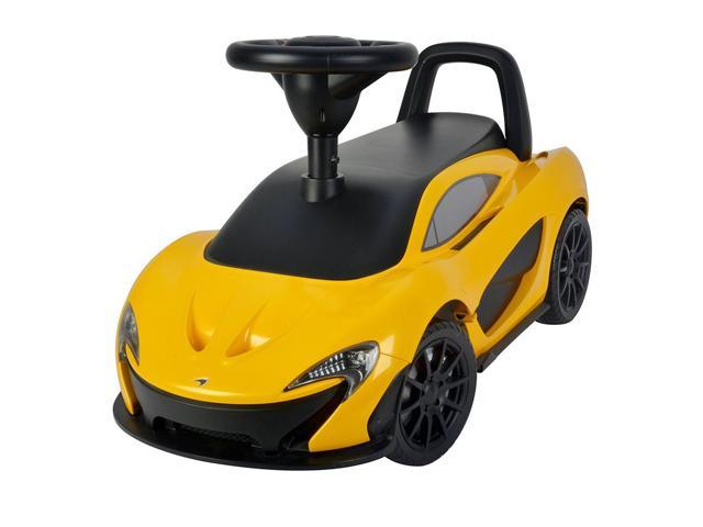 Evezo McLaren Ride-On, Toddler, Push Car, Yellow