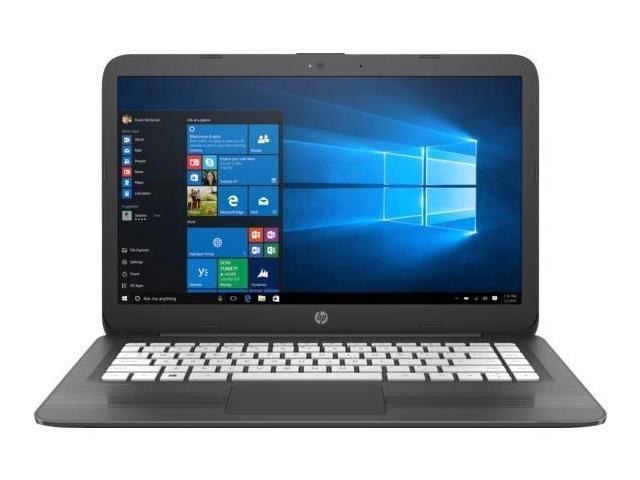 "Refurbished: HP Stream 14-cb130nr 14"" Laptop Celeron N4000 4GB 32GB eMMC Win10S"