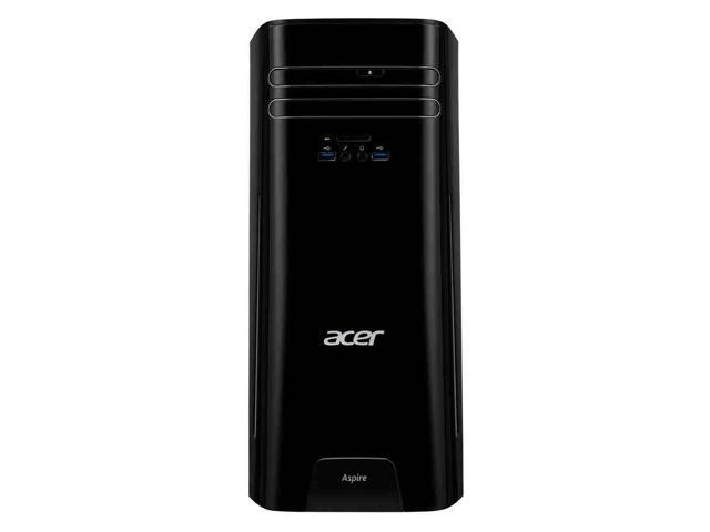 Acer Aspire TC Desktop, Intel i5-7400 up to 3.5Ghz,  8GB DDR4, 256GB SSD plus 1TB HDD, Intel HD Graphics 630, DVD-RW, Wifi 802.11ac , Bluetooth 4.0, USB,HDMI,  Dual Monitor Capable, Windows 10 Pro
