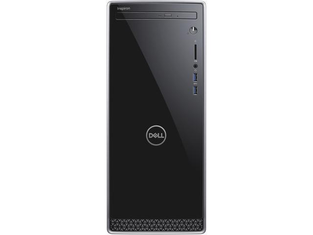 Dell Inspiron 3670 Desktop, 8th Gen Intel Core i5-8400 6-Core Processor, 8GB DDR4, 256GB SSD Plus 1TB HDD, DVD-RW, Wifi, Bluetooth, Intel UHD Graphics 630,Dual Monitor Capable, Windows 10 Pro 64 Bit