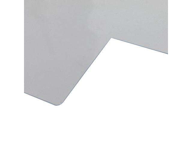 "New 48"" x 36"" PVC Chair Office Home Desk Floor Mat for Tile Wood 1.50mm With Lip"