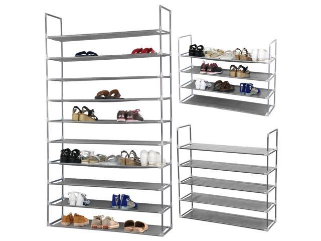 5Tier Home Storage Organizer Cabinet Shelf Space Saving Shoe Tower Rack Stand US