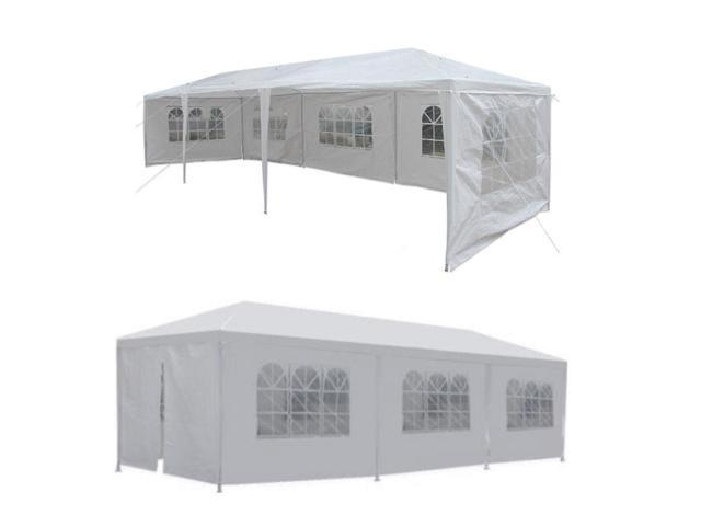 10' X 30' Canopy Wedding Party Tent Gazebo Pavilion w/5 Walls Cover Outdoor