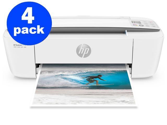 Refurbished: (4 Pack) HP DeskJet 3755 All-in-One Printer (Renewed) (Dark Grey)