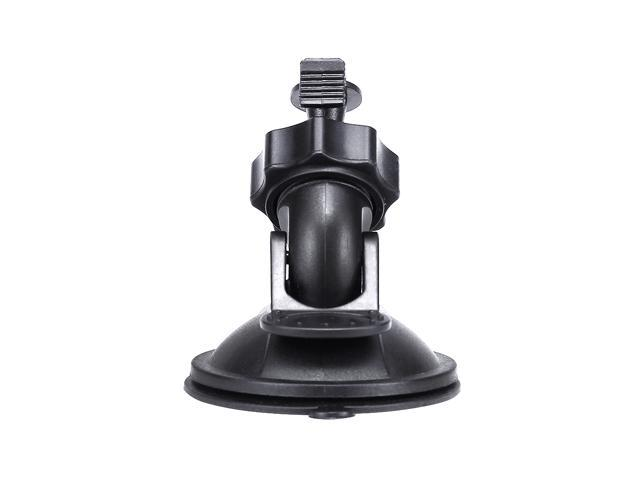 3pcs Car Suction Cup Holder Stand PC Bracket For G1WH/Xiaomi Yi Smart Car Camera - Black