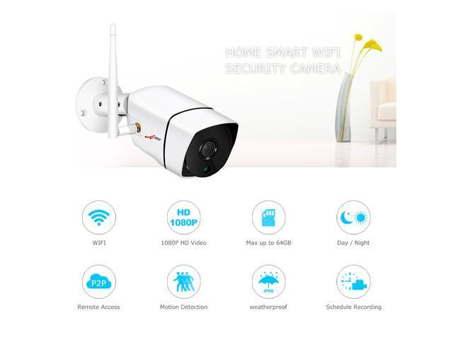 ANRAN 1080P Wifi IP Camera Outdoor Waterproof H 264 HD Night