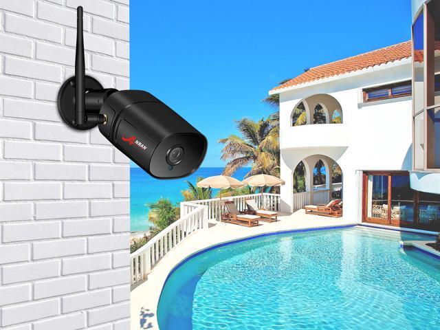 ANRAN IP 1080P Security Network Camera 2MP HD Waterproof & Night Vision for Home Outdoor IP Camera Two Ways Audio Video Surveillance Support Remote & Control
