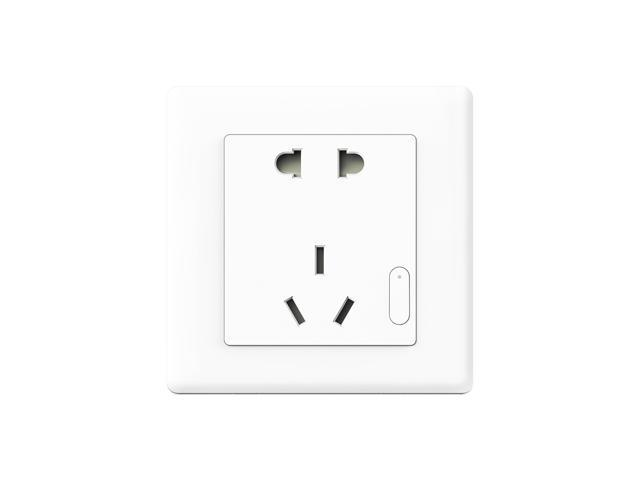 Xiaomi Smart Smart Wall Socket  ZigBee Plug, Work with Xiaomi Multifunctional Gateway Mihome APP Control