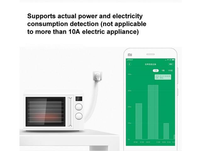 Original Xiaomi Intelligent Power Socket (Zigbee Version) for Xiaomi Smart Home Suite Devices, with the Xiaomi Multifunctional Gateway Use